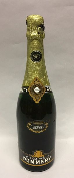 1 bt de Champagne Pommery 1964