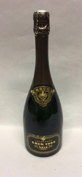 1 Btle Champagne KRUG 1989