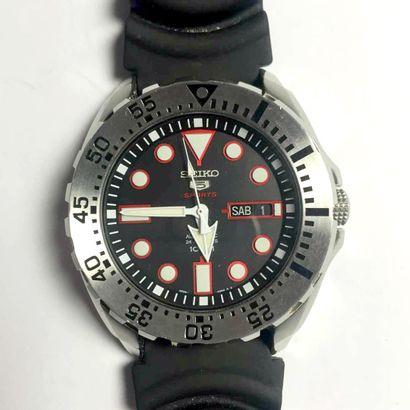 Seiko 5 Sport Montre de plongée sous-marine...