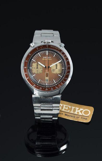 Seiko Bullhead Speed Timer Vintage Pilote...