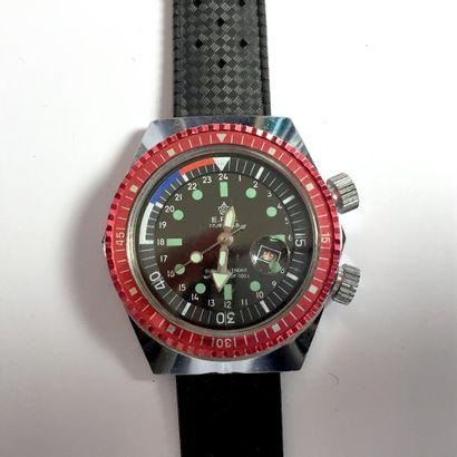 E.R.C Montre de plongée sous-marine de régate....
