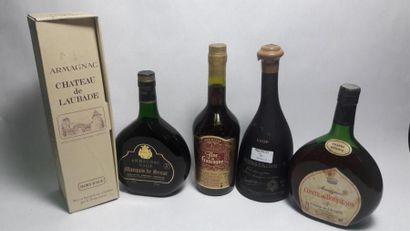 1 bouteille Château de LACQUY Comte de Brisseron,...