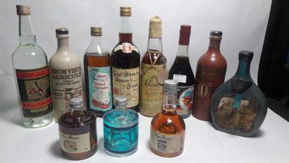 9 bouteille de RHUM : Isautier 10 ans d'âge...