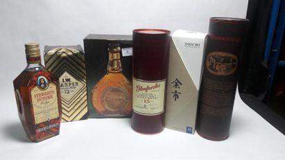 WHISKIES 6 bouteilles de Whisky : Nikka YOICHI...