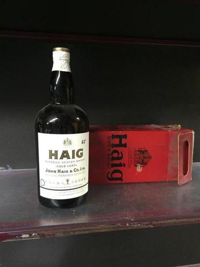 HAIG. Scotch Whisky. Importante bouteille....
