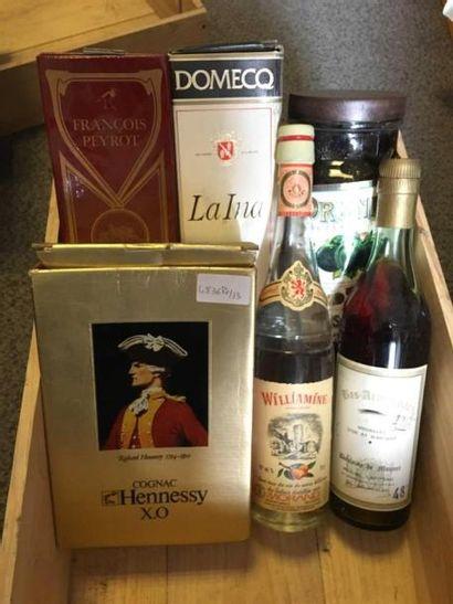 6 bouteilles: Poire WILLIAMINE MORAND, Bas...