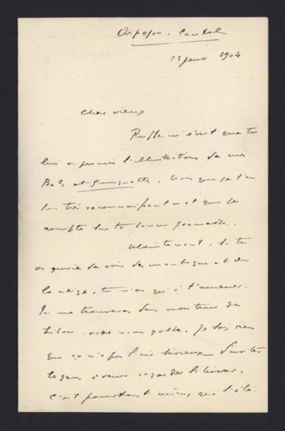 AJALBERT Jean (1863-1947), critique d'art,...