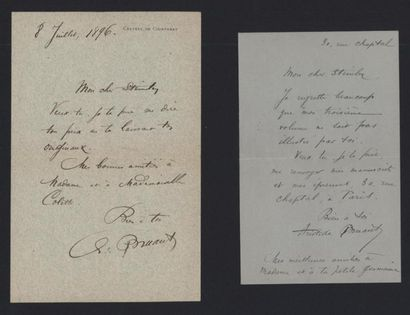 BRUANT Aristide (1851-1925), chansonnier...