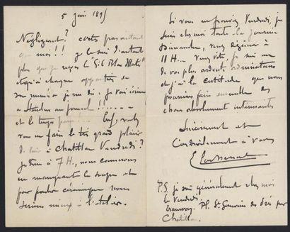 LACHENAL Edmond (1855 -1930?), céramiste....