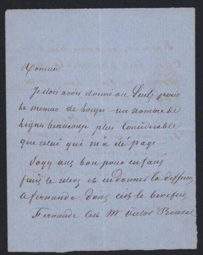 DUMAS Alexandre (Villers-Cotterets 1802-1870),...
