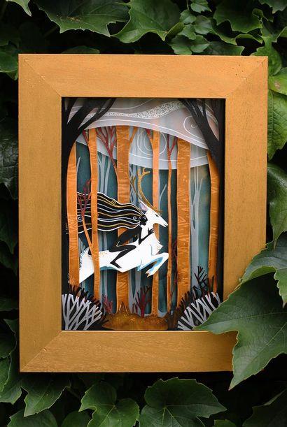 Marion Bulot technique : aquarelle et papier...