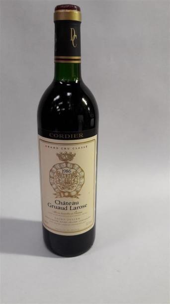 [VIN] 1 bouteille Château Gruaud Larose,...