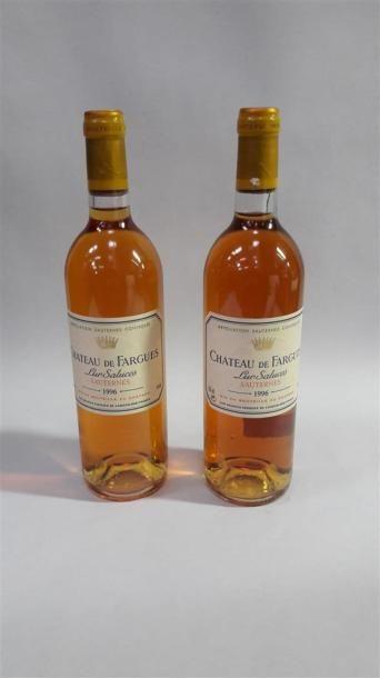 [VIN] 2 bouteilles Château De Fargues - Sauternes,...