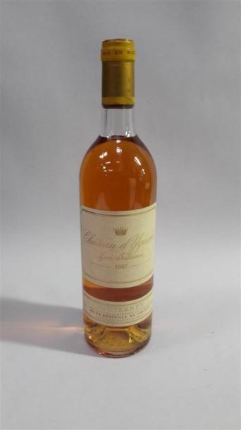 [VIN] 1 bouteille Château Yquem - Sauternes,...