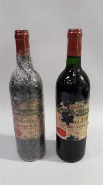 [VIN] 2 bouteilles Château Pavie - Saint...