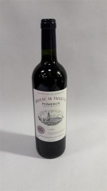 [VIN] 1 bouteille Château La violette - Pomerol,...