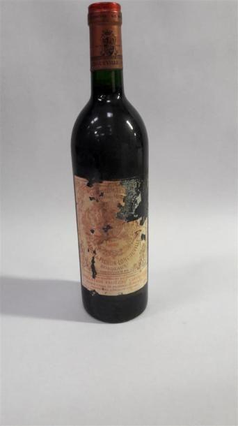 [VIN] 1 bouteille Pichon Baron - Pauillac,...