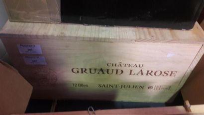 [VIN] 6 bouteilles château GRUAUD LAROSE...