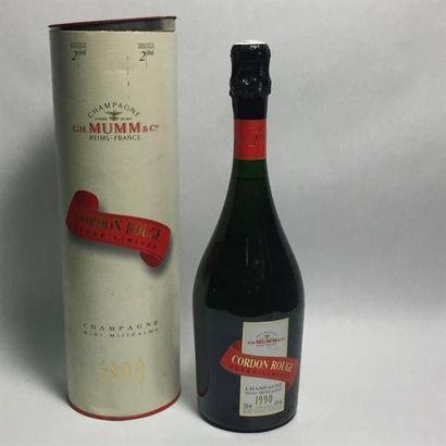 [VIN] 1 Bouteille de Champagne G. H. MUMM...