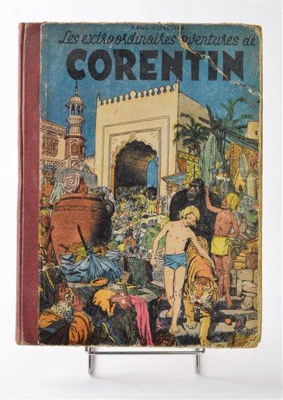 Paul CUVELIER (1923-1978) Trois bandes dessinées...