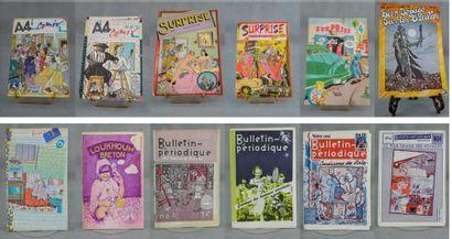 FANZINES et revues des années 70.