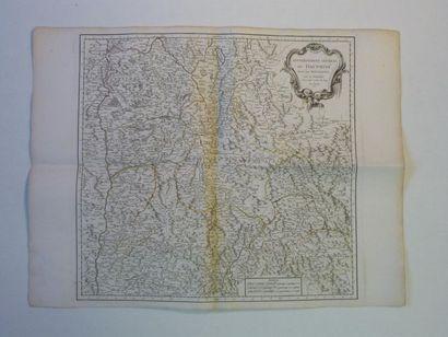 Carte du Gouvernement Général du Dauphiné divisé par Baillages, 1761.