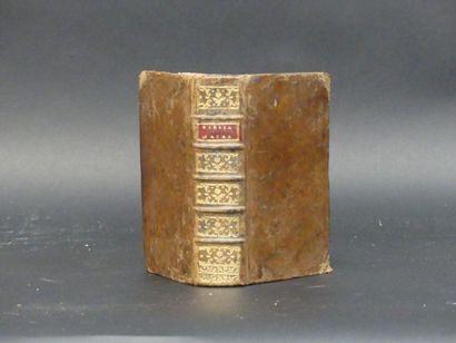 [Religiosa] : Biblia sacra, ex libris Labayville, 1743.