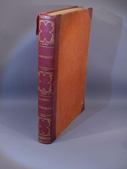 ARMENGAUD, Les Galeries Publiques de l'Europe, ROME. 1856.