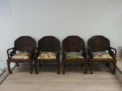 ASIE. Salon en bois de fer