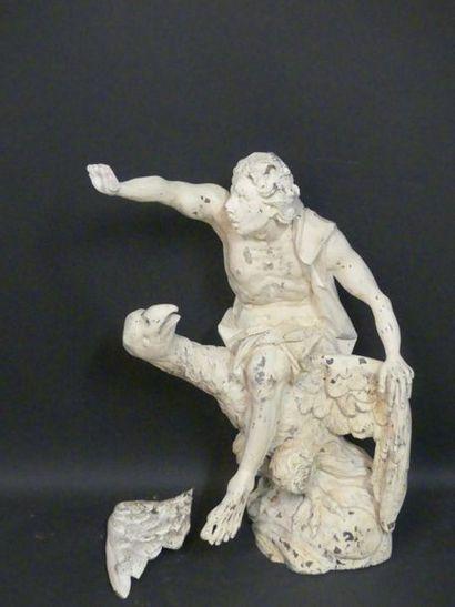 L'enlèvement de Ganymède.