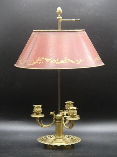 Lampe Bouillotte.