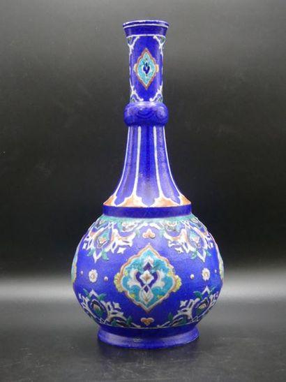 Théodore DECK. Vase Balustre