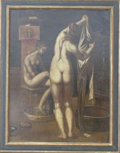 Femmes à leur toilette