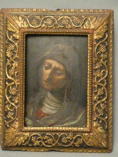 Portrait d'une religieuse