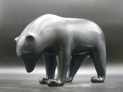D'après François POMPON. Grand ours brun