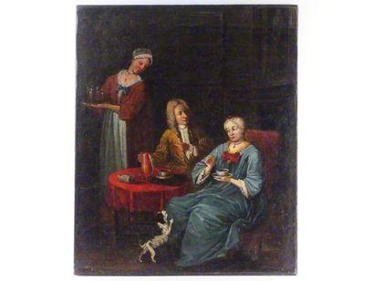 Ecole française. XVIIIème siècle.