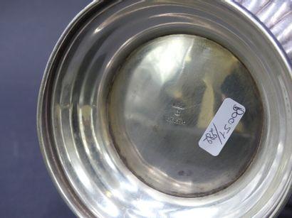 Christofle collection Gallia. Christofle collection Gallia. Verseuse en métal argenté....