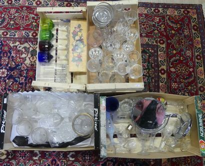 Cartons de verreries