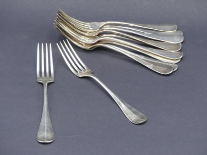Suite de 11 fourchettes