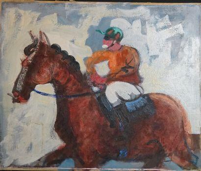 Ecole française du XXème siècle, Le Jockey,...