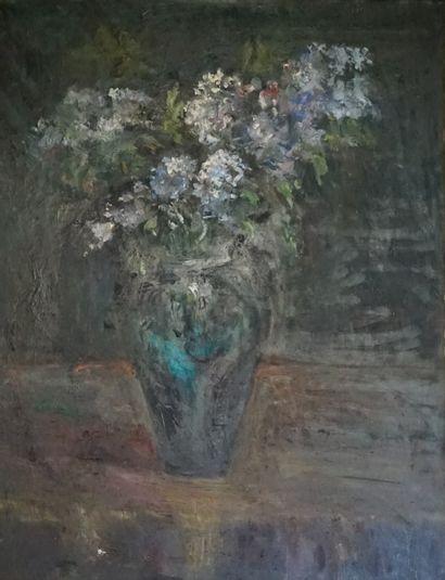 Ecole Du XXèmer siècle, Bouqte de fleurs,...