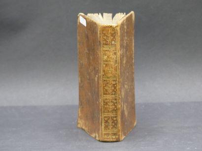 Oeuvres de Jean RACINE, 1787.