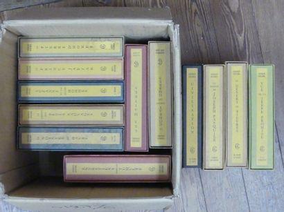 Georges DUHAMEL : 12 volumes.