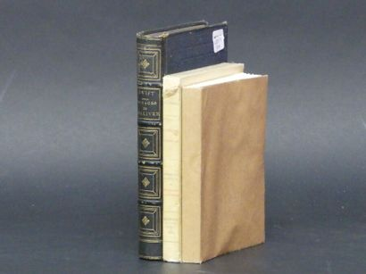 Lot de 3 ouvrages :  Voltaire, Gracq et Swift