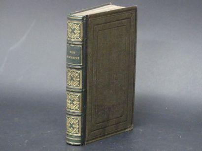 Miguel de CERVANTES SAAVEDRA,  ill. par GRANDVILLE, Don Quichotte, 1858.