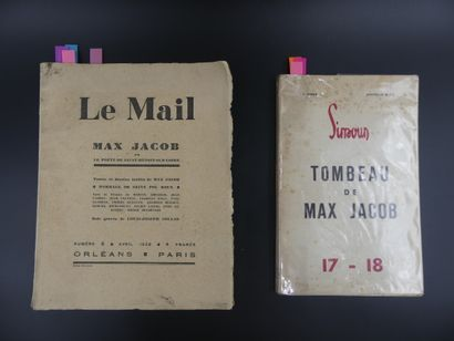 Max JACOB : Le Mail, Max Jacob ou le poète de Saint-Benoît & Simoun, Tombeau de Max Jacob