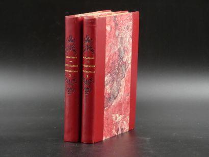 Gustave FLAUBERT, L'Education Sentimentale.