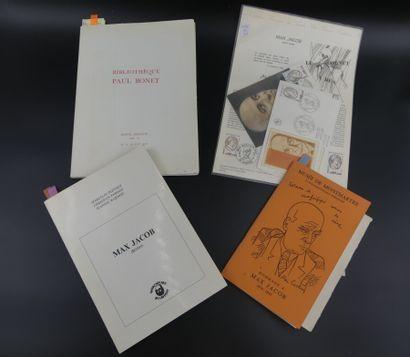 Max JACOB , Réunion de catalogues
