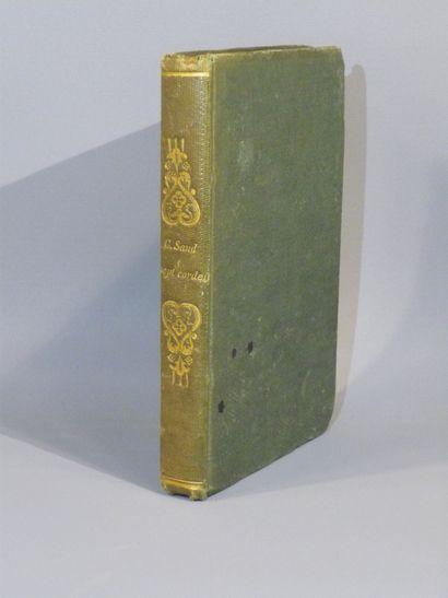 Georges SAND, Les Sept Cordes de la Lyre. EO 1839.