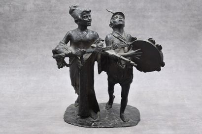 F. DE MATTEIS, Bronze